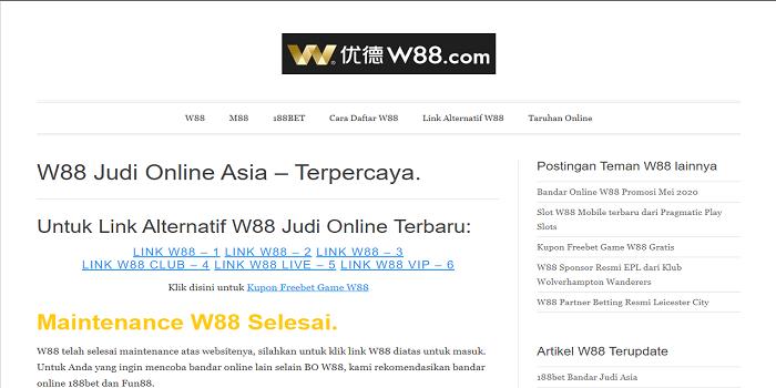 w88 login