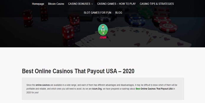 best online casinos that payout usa
