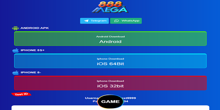 mega888 malaysia download