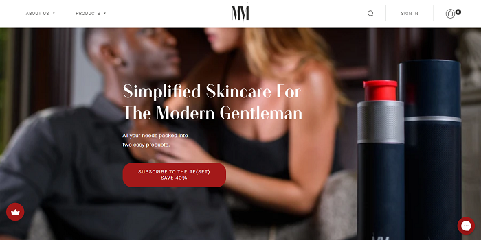 simple men's skincare routine